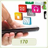 قالب وبلاگ برنامه موبایل